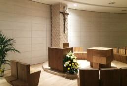 REALIZZAZIONI cappella Ospedale Careggi - ACG Arco Costruzioni Generali